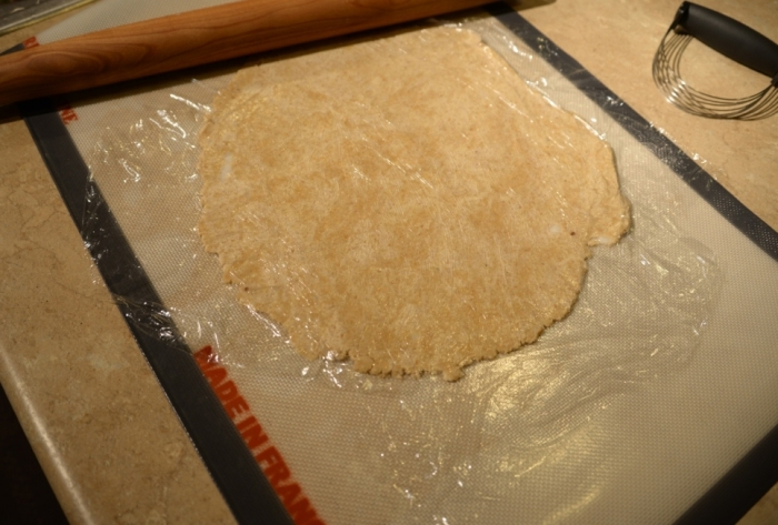 Glute free vegan pie crust